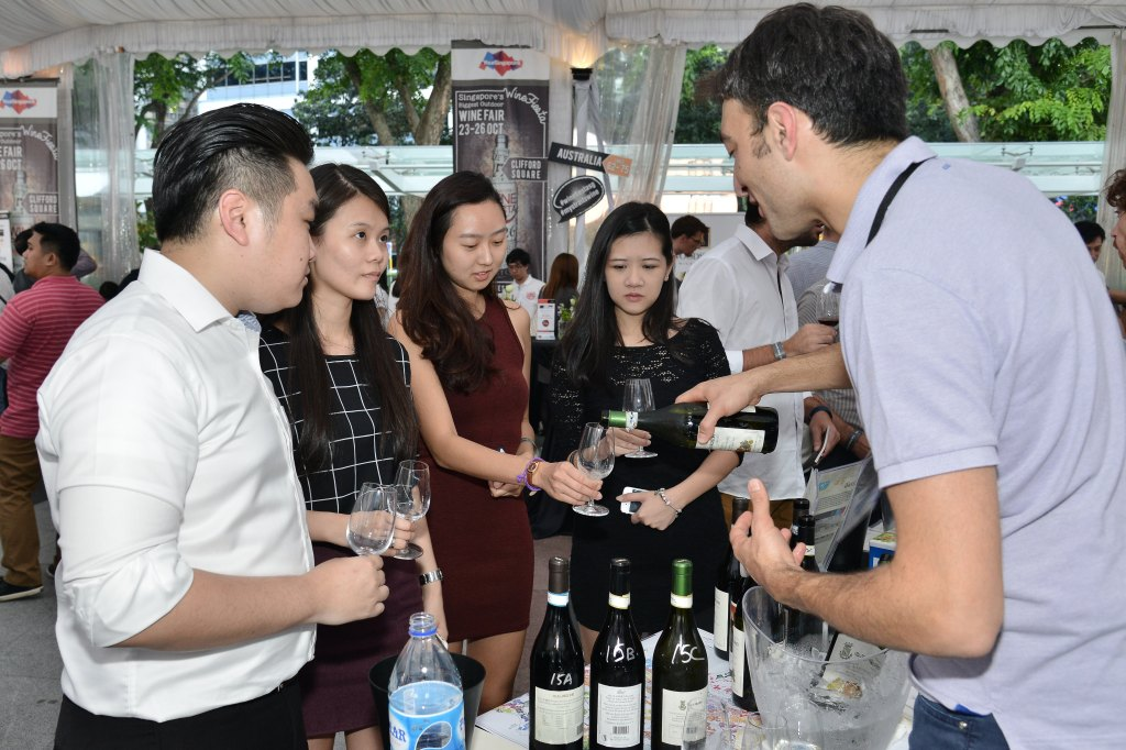 Guests at Wine Fiesta 1