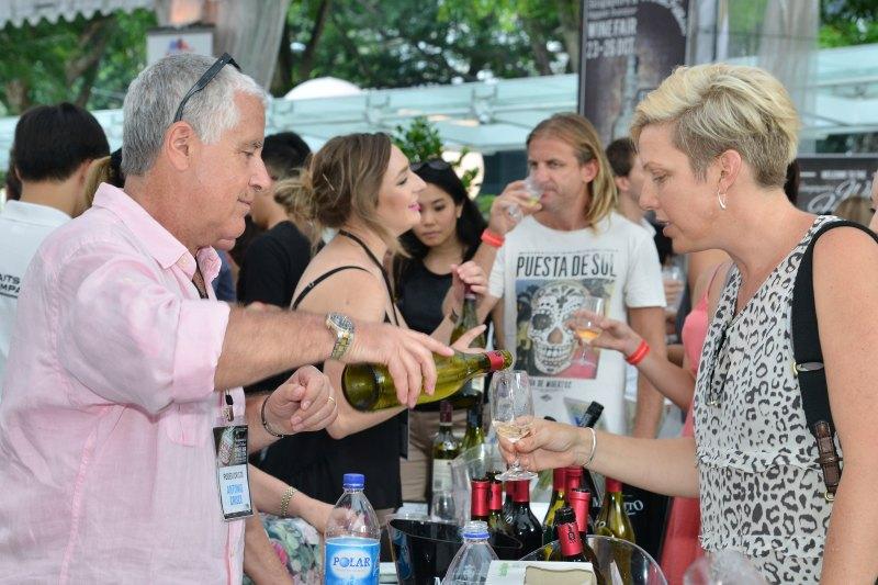 Guests at Wine Fiesta 2