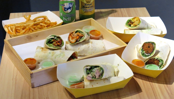 Roll Up – Mouth Watering Premium Kebab Rolls