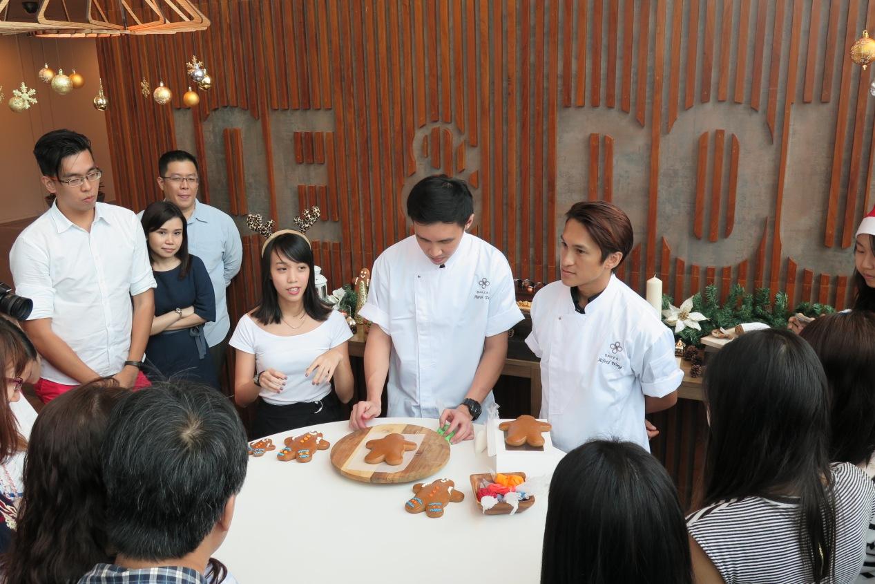 Joe & Dough Baker Chef Demostration