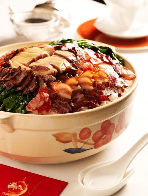 Claypot Reunion Rice - Min Jiang and Min Jiang at One-North