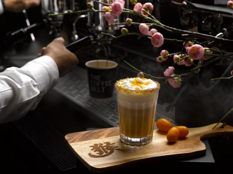 CNY Park Hotel Alexandra Kumquat Latte at The Coffee Belt 2
