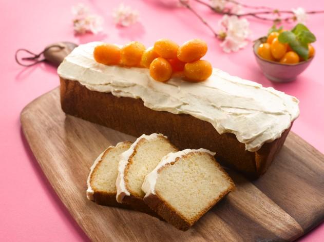 CNY Park Hotel Alexandra Mandarin cream cake with kumquat frosting