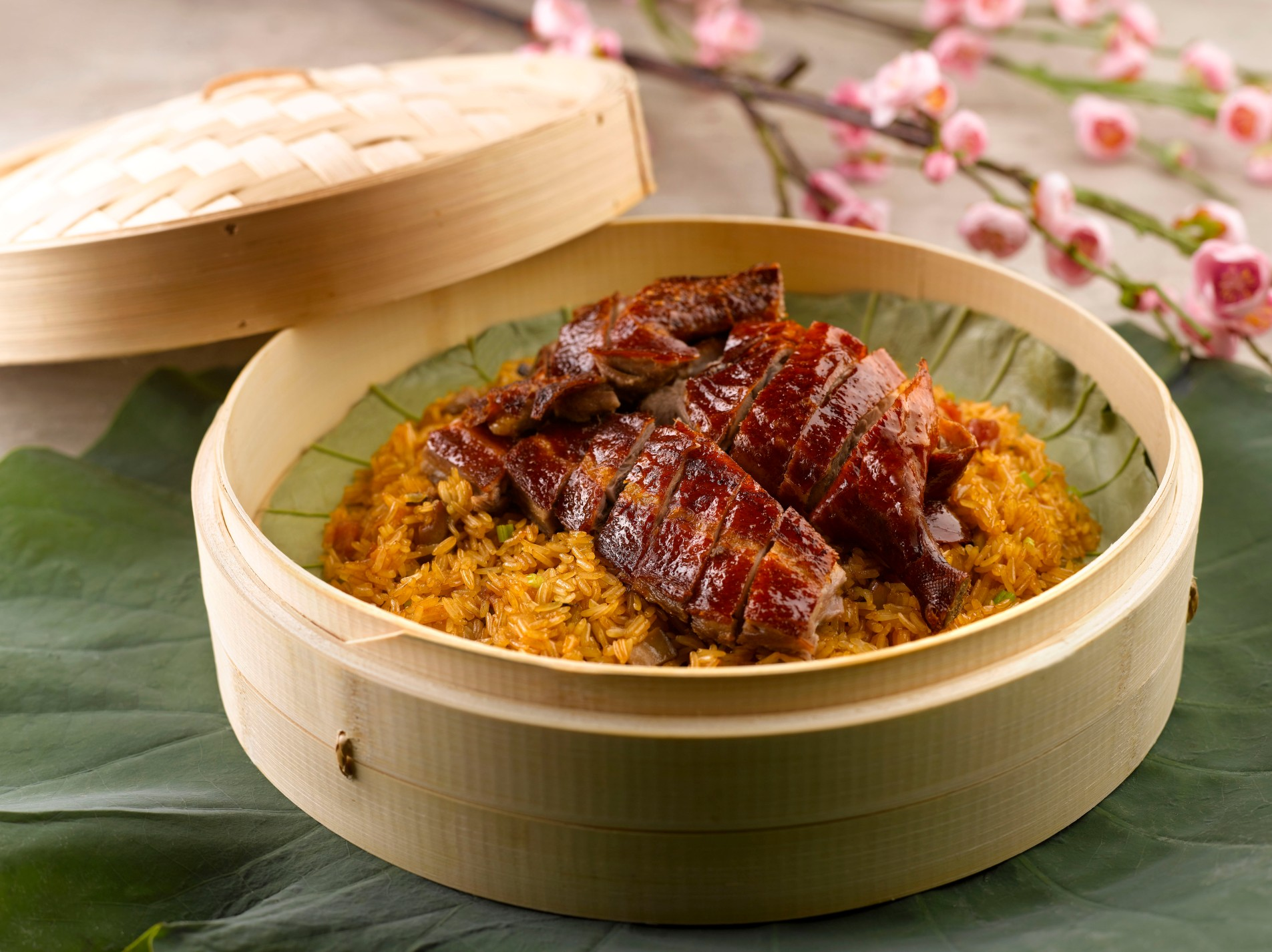 Crystal Jade CNY 2016 - Kitchen Stir-fried Glutinous Rice with Roasted Duck