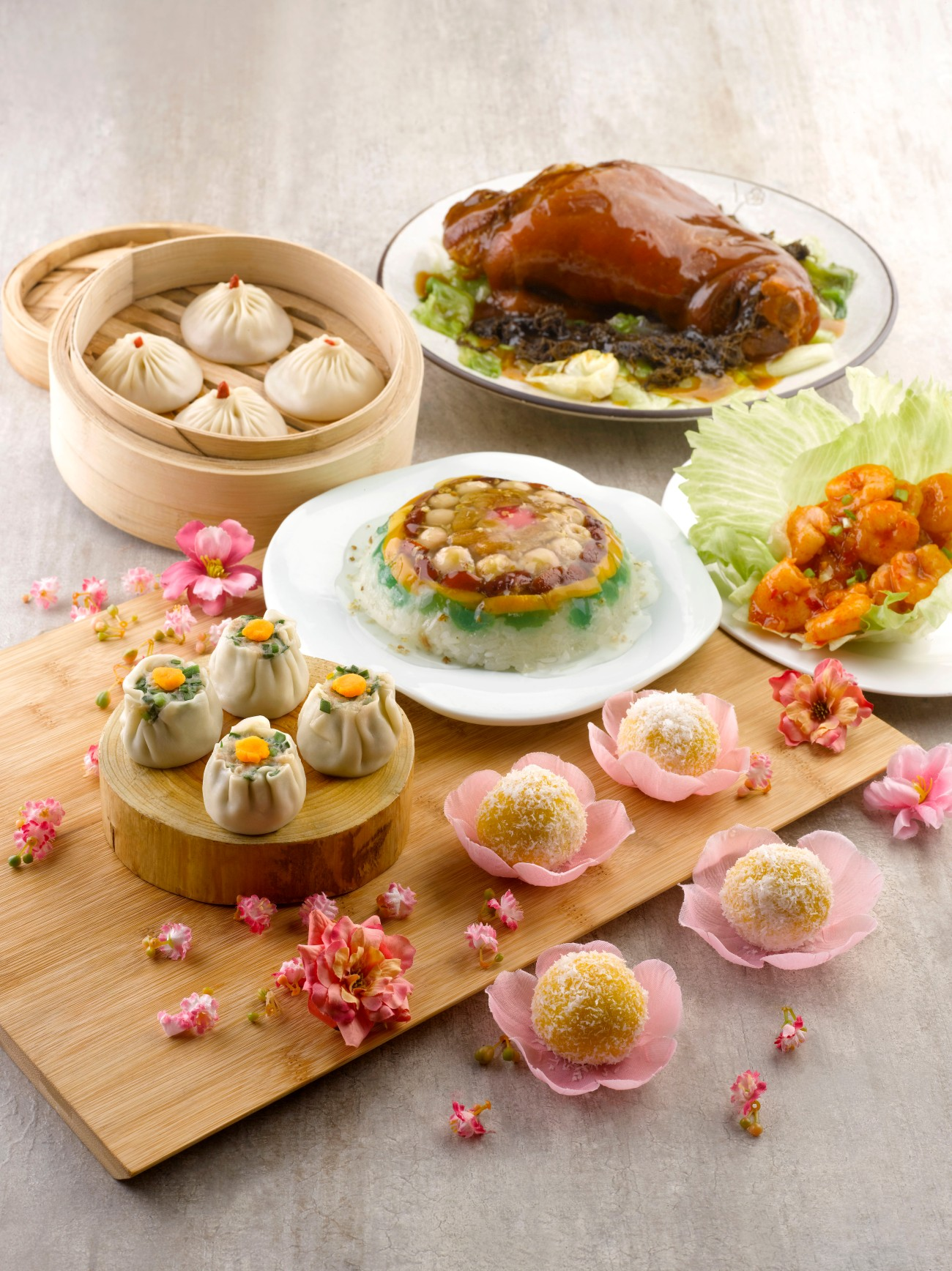 Crystal Jade CNY 2016 - La Mian Xiao Long Bao specialty dishes