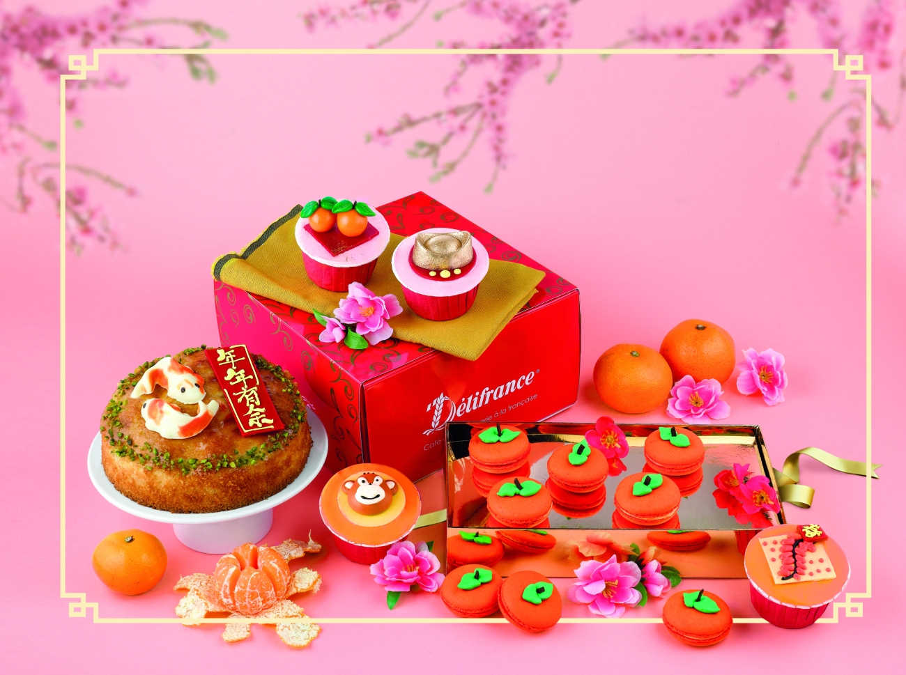 Delifrance CNY Catalogue Inside Visual