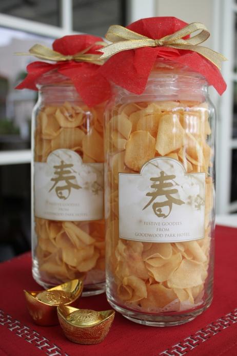Goodwood Park Hotel 'Chiku' (arrowhead) Chips