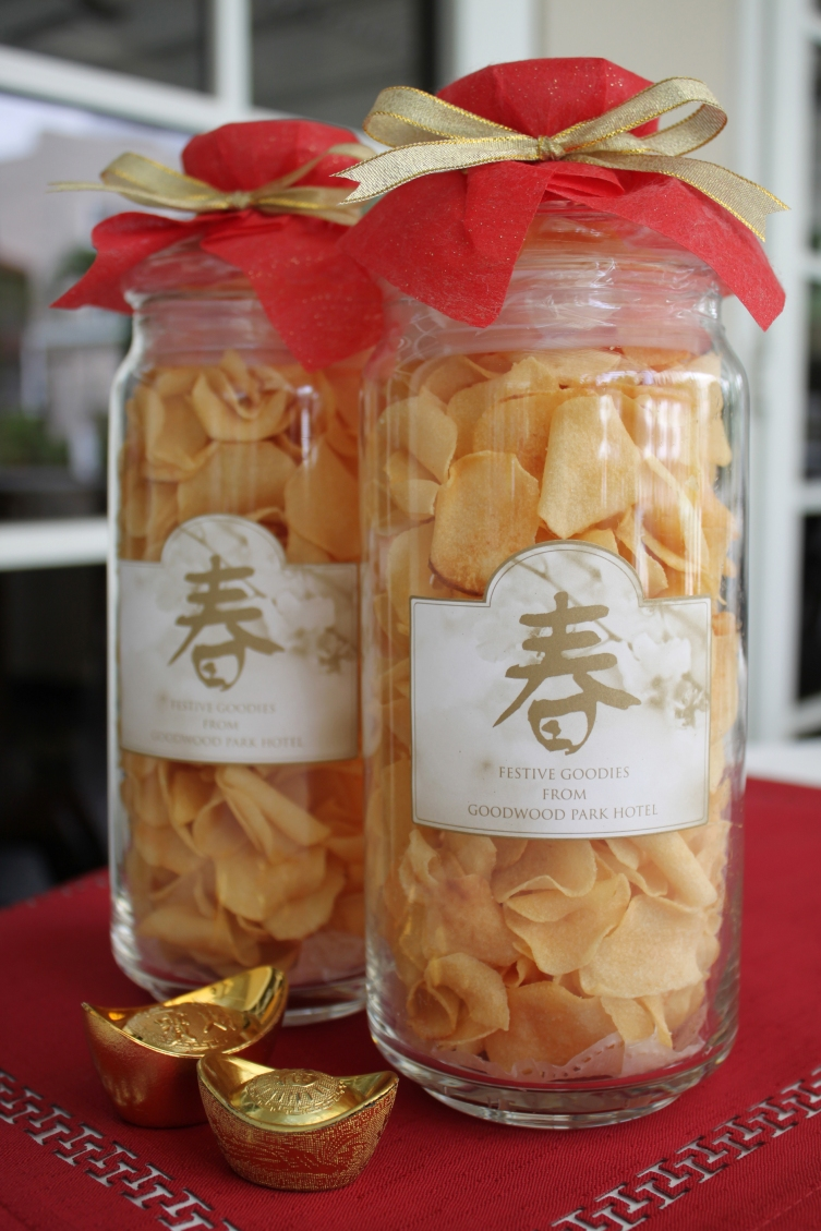 Goodwood Park Hotel 'Chiku' (arrowhead) Chips