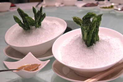 8. Chilled Asparagus - Crystal Jade Dining IN