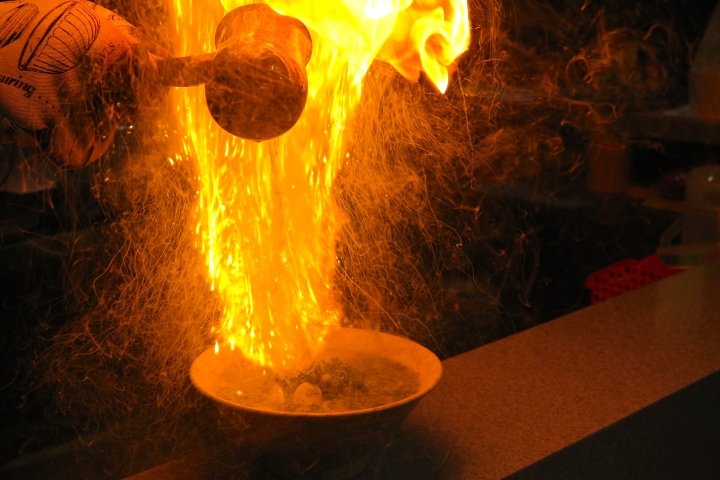 Shin-Sapporo Ramen Introduces Fire and SakeRamen