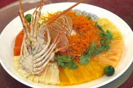 2. Rainbow Lobster and Crab Meat Lo Hei - Park Hotel Clarke Quay