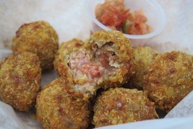 Cheesy Meatballs