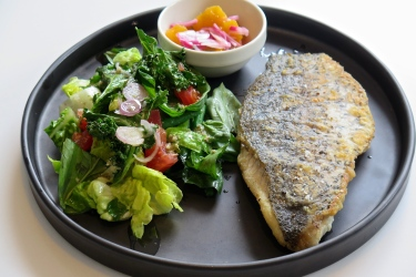 Grilled Seabass $28