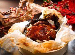 Emperor Herbal Chicken in a Basket