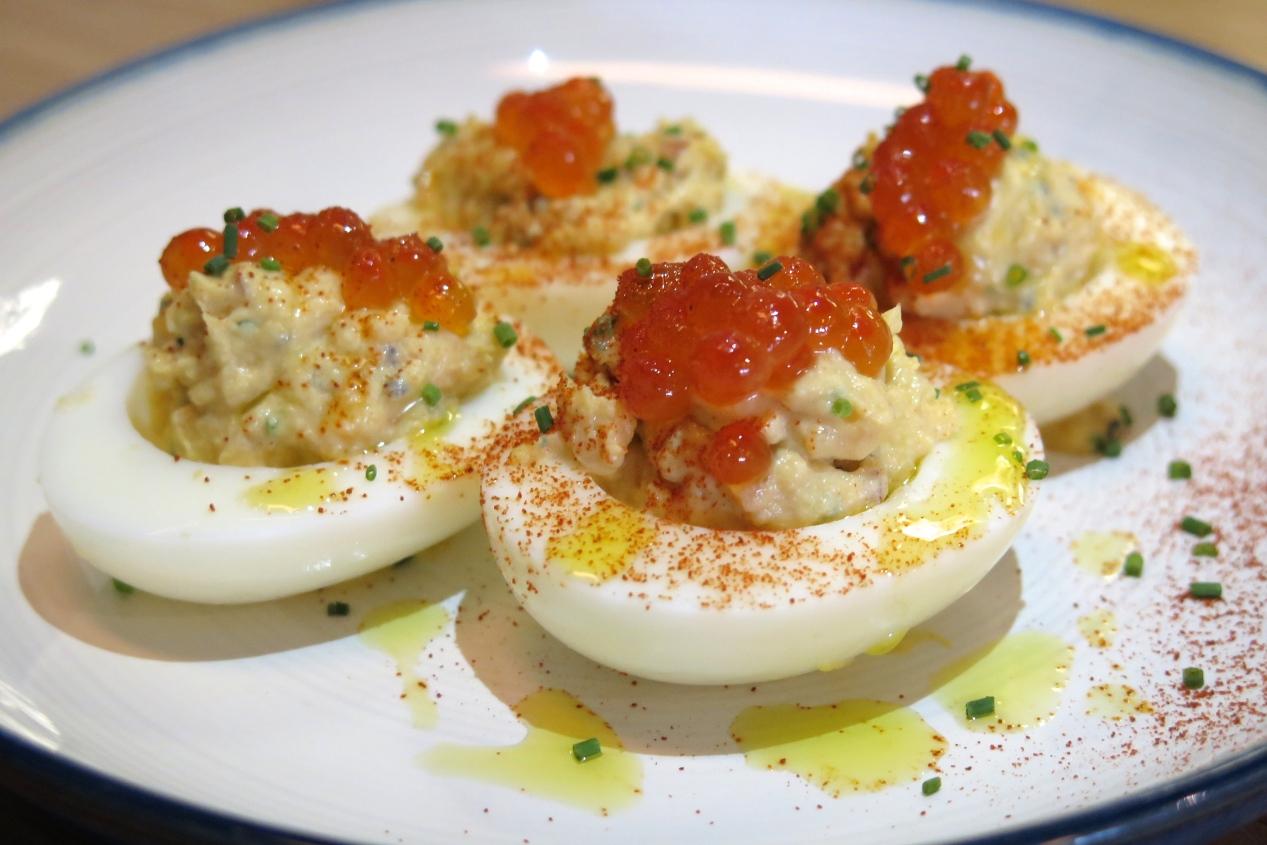Devilled Eggs $6
