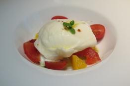 Burrata & Tomato Salad ($14++)