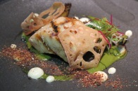 Grilled Swordfish & Spring Onion ($15++)