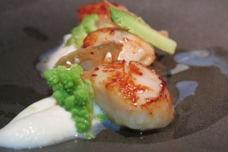 Scallops & Cauliflower ($22++)