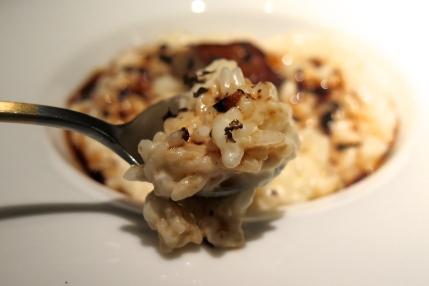 Truffle Cream Risotto & Foie Gras ($19++)