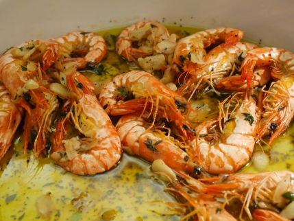 Gambas Al Ajillo (Garlic Shrimps)