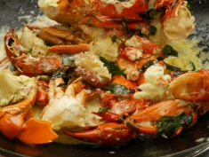 Creamy Butter Rock Crab