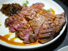 Mains - Black Angus Ribeye with Onion Confit (250g for $38)