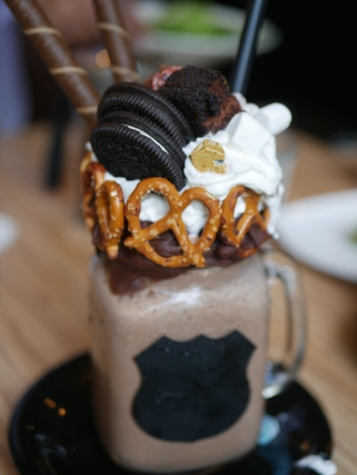 Over The Top Milkshake - Cocoa Carousel ($16)