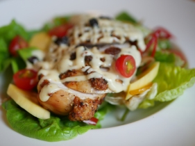 Robert Timms Roasted Chicken Salad ($17.50) - Signature