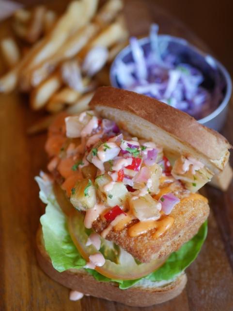 Crispy Fish Sandwich ($19.80) - NEW