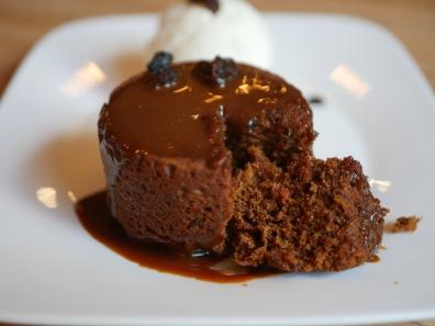 Sticky Date Pudding ($14) - Signature