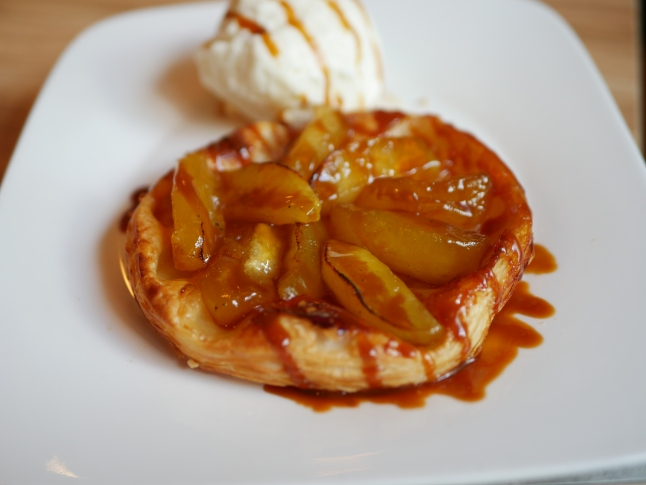Upside Down Apple Tart ($10) - NEW