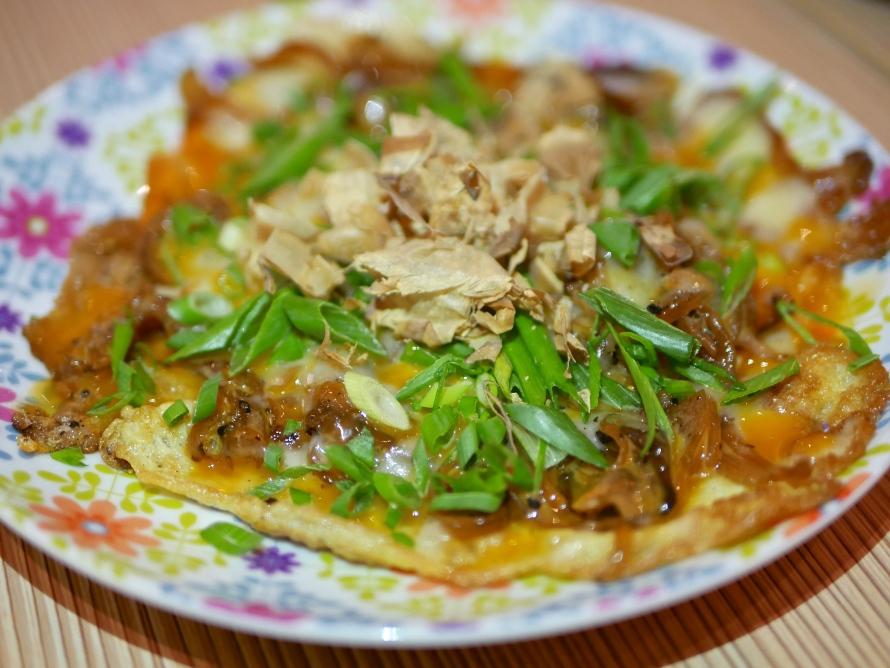 Potato, Bonito and Cheese Pancake ($5.90)
