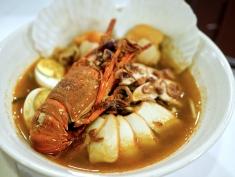 Premium Lobster & Scallop Noodles ($16.95)