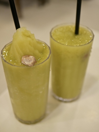 Ampla Ice Blended ($7.95) & Ampla Juice ($4.95)
