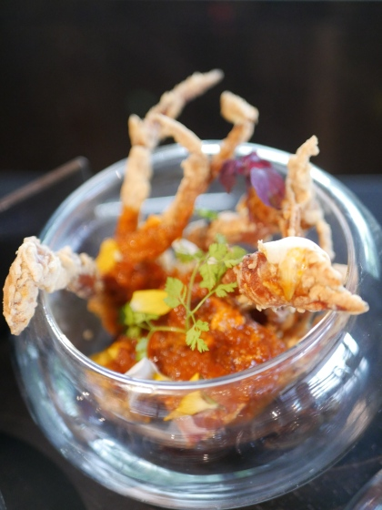 Seafood - Soft Shell Chilli Crab ($14)