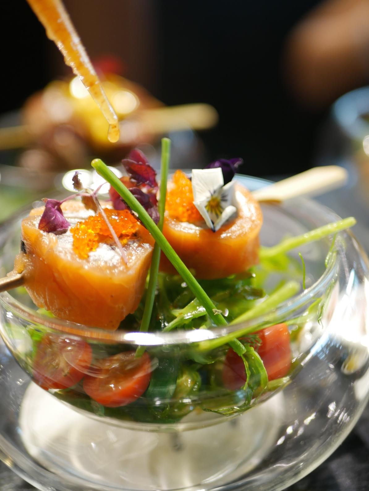 Salad - Smoked Salmon Roulade ($12)