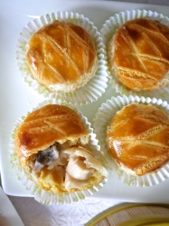 Baked Abalone & Diced Chicken Pastry