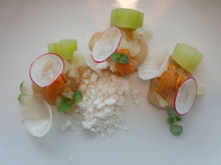 Orkney Islands Scallop Ceviche ($25)