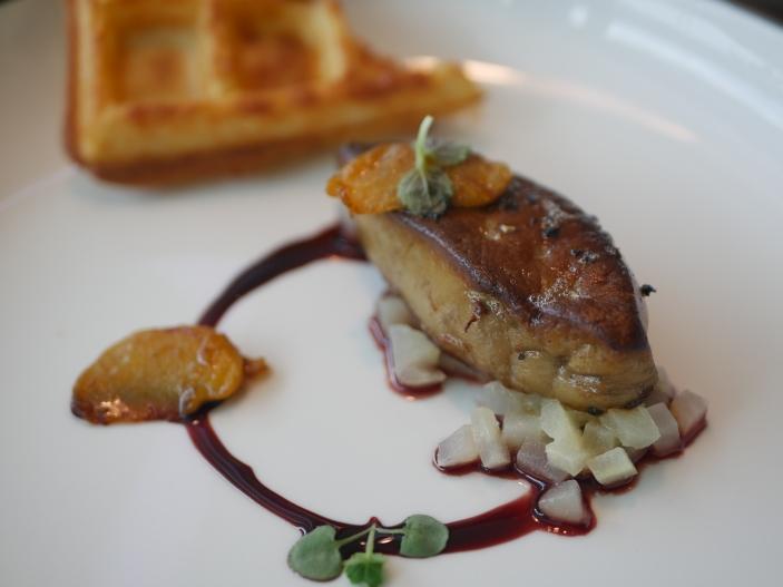 Seared Foie Gras ($21)