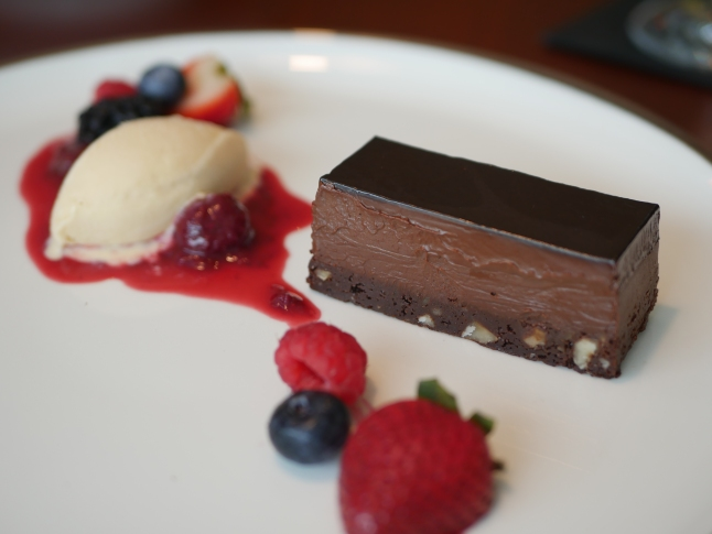 Chocolate Delice with Baileys Ice-Cream ($15)
