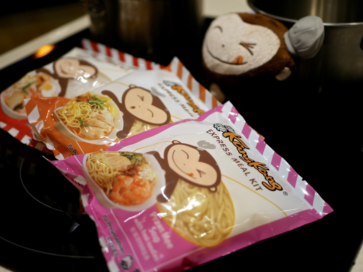 Cooking with Kang Kang Fresh Noodle Express Meal Kit - Really Quick & Easy and Taste Good too