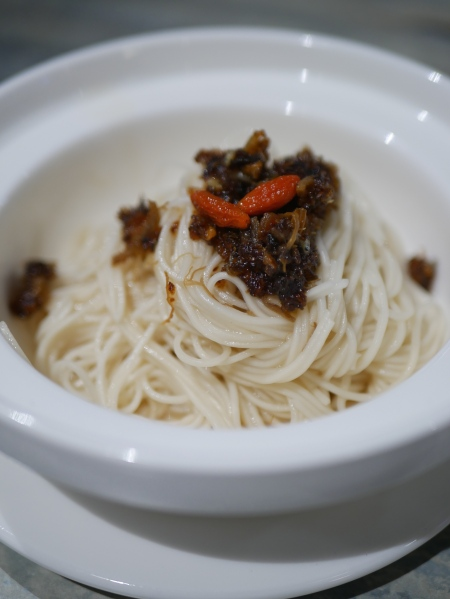 Mee Sua Tossed in Abalone Sauce ($2.90)