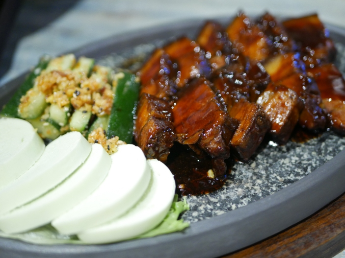 Home Braised Pork Belly in Rich Dark Sauce ($18.90)
