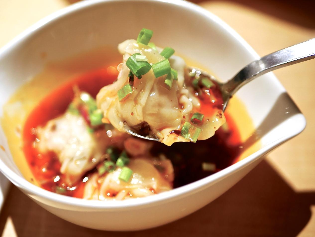 Dumplings in Sichuan Sauce ($5+)