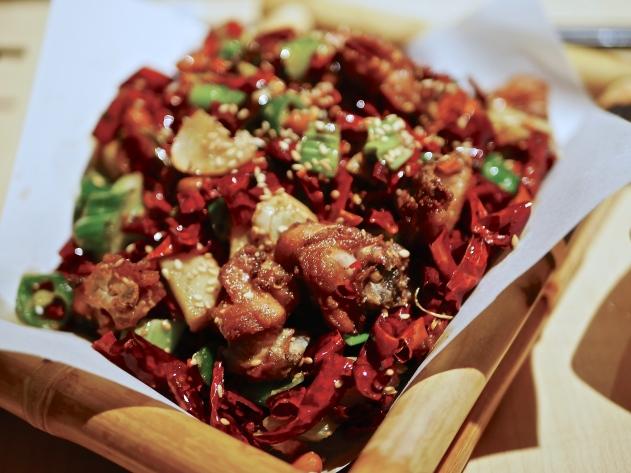 Spicy Sichuan Chicken ($22+)