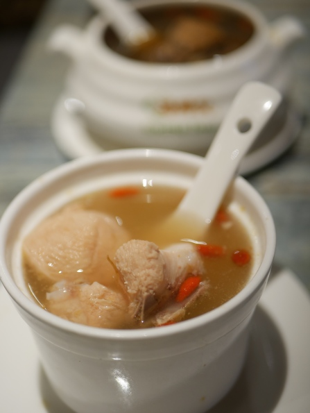 Homemade Double Boiled Chicken Soup ($7.90)