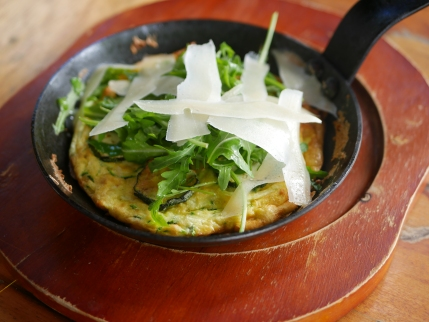 Zucchini Frittata ($18)