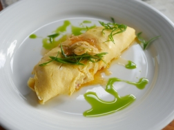 Crab Omelette ($26)