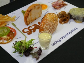 Let's Have A Burger (Deconstructed) by Executive Chef Matthew Leighton - Salt Grill & Sky Bar by Luke Mangan
