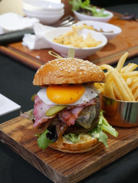 Let's Have A Burger by Executive Chef Matthew Leighton - Salt Grill & Sky Bar by Luke Mangan